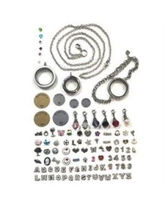 Silver Lockets and Charms Set - While Supplies Last!