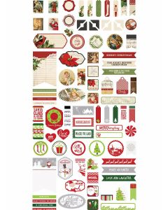 Christmas Joy by Katie Pertiet Accent Stickers