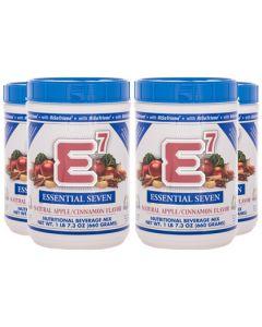 E7® Apple/Cinnamon (4 Canisters)
